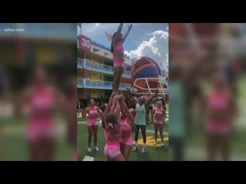 Southlake cheerleader injured at Disney World