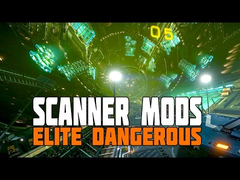 Elite Dangerous: Engineered Scanners and Utilities (Plus Fish and Agricultural Station Interiors)