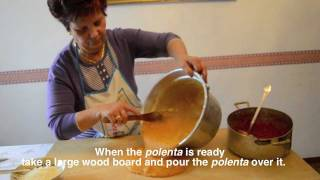 Cooking With Mamma Anna Maria: Polenta With Sausages And Pork Ribs Sauce (polenta Con Sugo)