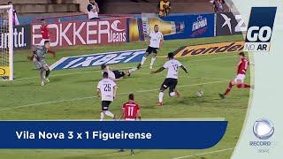 Vila Nova 3 x 1 Figueirense