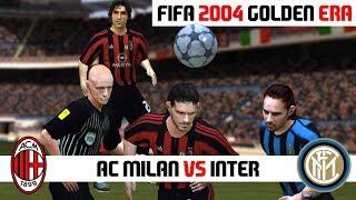 FIFA 2004 / AC Milan vs Internazionale / PC Gameplay HD