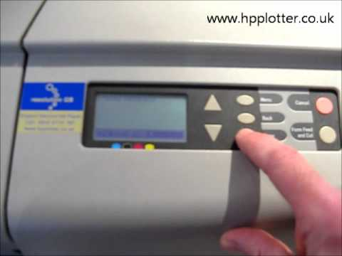 how do i update firmware on hp printer