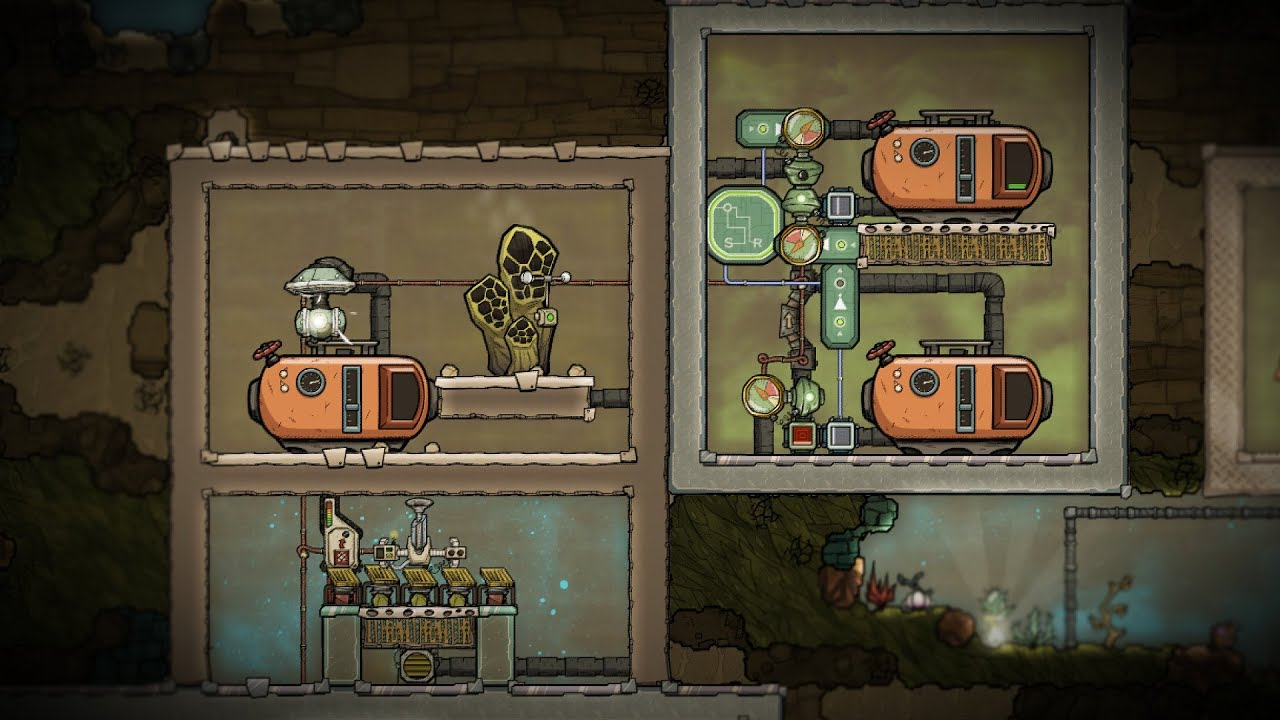 Automatically Disinfect Oxygen and Water! Oxygen Not Included