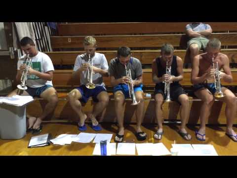 Carolina Crown Trumpets 2015 - Cityscapes Sight-Reading