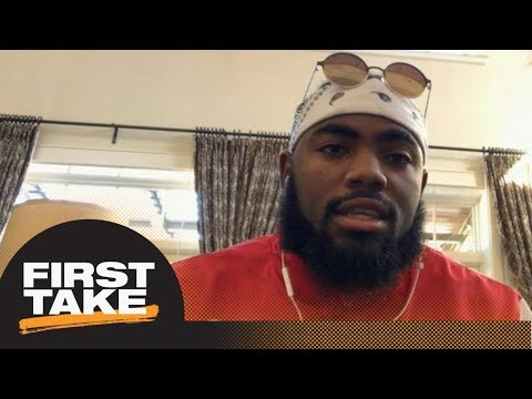 Landon Collins answers questions about Eli Apple, Giants' coaching and more | First Take | ESPN