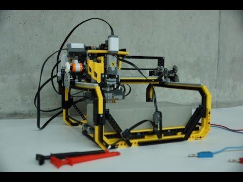 lego 360 milling machine instructions
