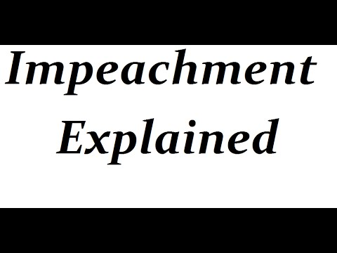 Impeachment Process of President and Judges in just 5 min