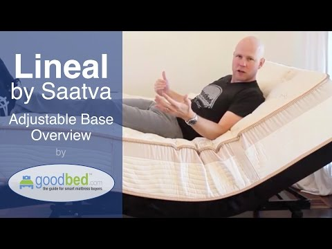 Lineal Adjustable Bed (by Saatva) Explained by GoodBed.com