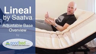 Lineal Adjustable Bed Frame Overview