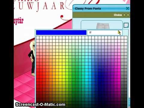 colour codes on woozworld d youtube
