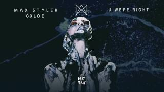 Max Styler &amp CXLOE - U Were Right Dim Mak Records