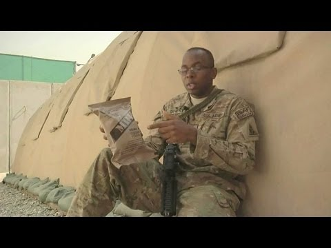 Meal, Ready-to-Eat (MRE) Keeping Soldiers Fueled
