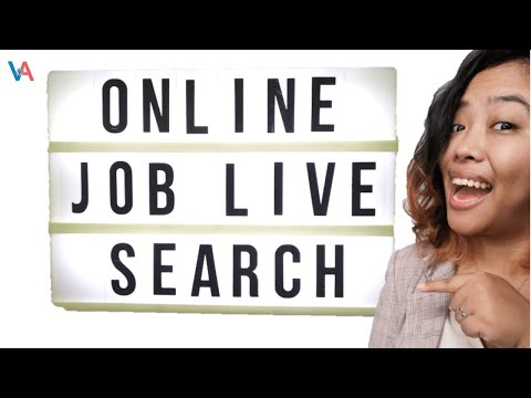 Online Job Search in 30 Minutes Or Less | Ate Live