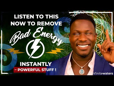 How to REMOVE Someone's BAD Energy INSTANTLY!!!