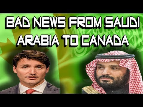 Bad News  For Canada From Saudi Arabia Canada Visa