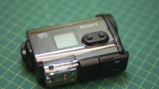 Обзор экшен камеры Sony AS20 и аксессуаров к ней.