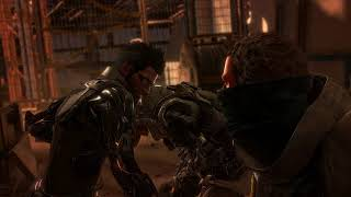 Back2Gaming plays Deus Ex: Mankind Divided on Linux using RX 480 8GB