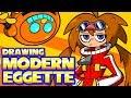 Sonic Mania Modern Eggette Design Speedpaint