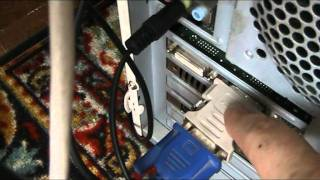 Подключение телевизора к компьютеру(Вторая часть ролика идёт без звука, вот тут новая версия - http://www.youtube.com/watch?v=WJO7qCeGhxo P.S. http://mstreem.ru Компьютерные..., 2011-08-29T06:36:44.000Z)