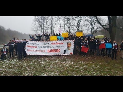Alparslan Kuytul Hocaefendi'nin Tekrar Tutuklanması Üzerine Hamburg'tan Destek