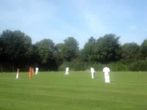 Groninger Cricket Club: Captain  in action