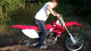 honda cross io con la crf 250 4t