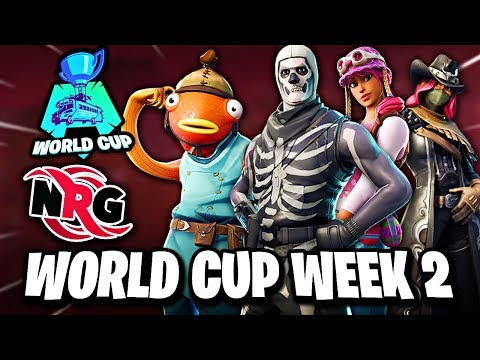 Fortnite World Cup Week 2 Duos Preview   NRG Highlights Hype Montage