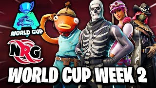 Fortnite World Cup Week 2 Duos Preview | NRG Highlights Hype Montage