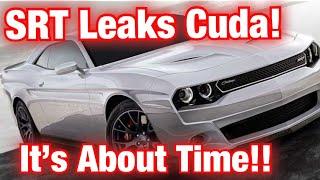 Dodge SRT Cuda *LEAKED AGAIN!* Dodge Admits It!