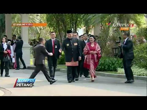 Habibie, Megawati dan SBY Rayakan HUT RI di Istana Merdeka