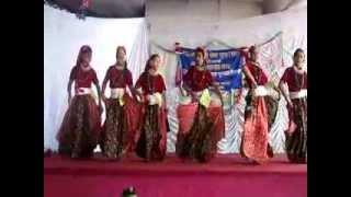 nepali dance lekama jane saila dai gyanshikha sec.school na tole lalitpur gautam nakarmi