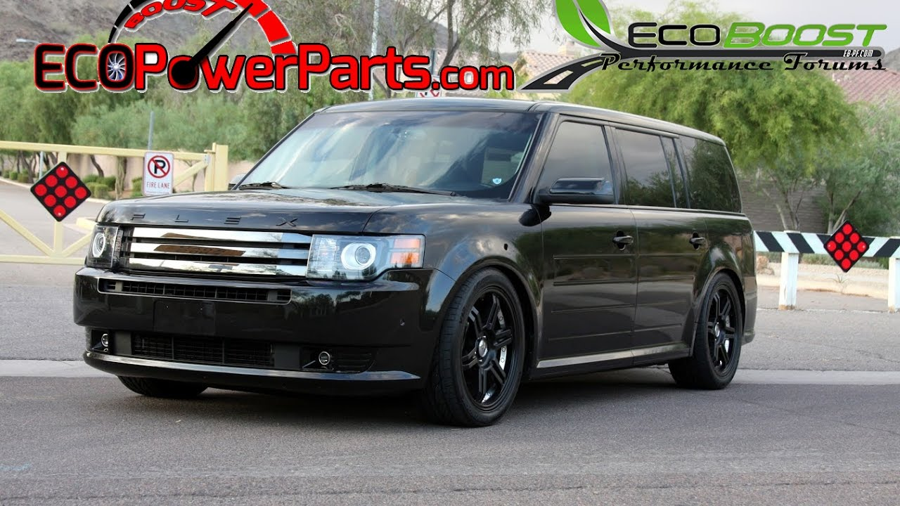 First ecoboost to make 600whp 2011 ford flex ecoboost atp turbo upgrade