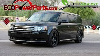 First Ecoboost to make 600WHP! 2011 Ford Flex Ecoboost ATP Turbo upgrade
