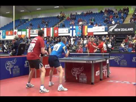 World veterans championships table tennis 2014 double men - Table tennis world championship 2014 ...