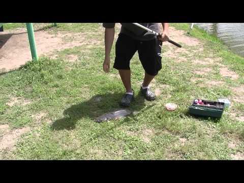Texas Catfishing In Pond