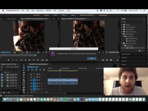 Adobe Premiere Pro - Basic Tutorial
