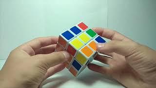 Как собрать кубик рубика 3х3 лёгкий способ