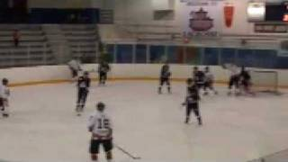 PIJHL Mission Icebreakers at Ridge Meadows Flames Feb 13 09 Highlights