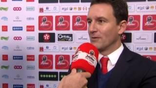 Aleksandar Jankovic après Standard - Lokeren