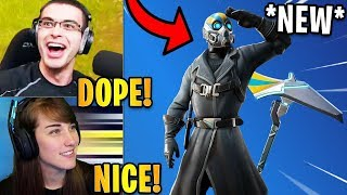"Streamers React to the *NEW* ""AERONAUT"" Skin & ""AERO AXE"" 