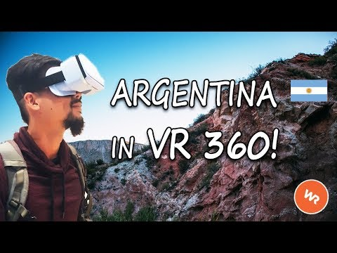 Argentina In VR 360 (World Race)