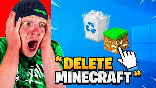 IF YOU LAUGH = DELETE MINECRAFT!