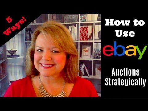 5 Ways to Use eBay Auctions Strategically - eBay the SMART Way!