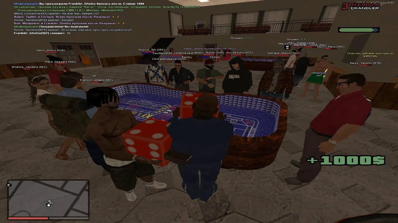 Тактика arizona rp казино samp rp казино