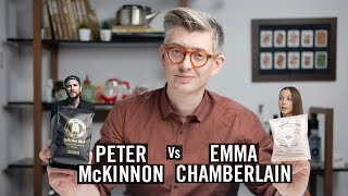 Reviewing YouTuber Coffee: @Peter McKinnon Vs @emma chamberlain