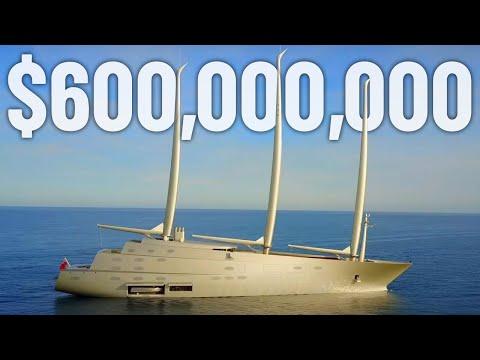 Inside A Billionaire's $600 Million Mega Yacht