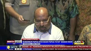 Gubernur Kecewa dengan Sikap Mahasiswa di Asrama Papua di Jawa Timur