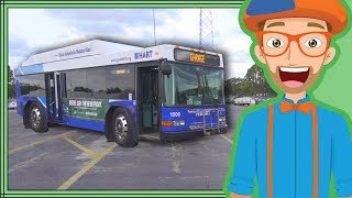Bus Videos for Children by Blippi | Educational Videos for Kids thumbnail