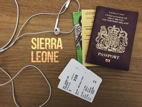 We are going to SIERRA LEONE