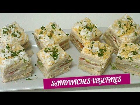 Sándwich Vegetal Recetas De Cocina